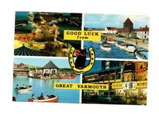 Norfolk - Good Luck From Great Yarmouth - 1978 Multiview Postcard