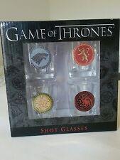Game Of Thrones Four Houses Shot Glasses Set, RT Rabbit Tanaka