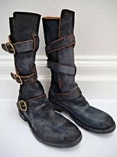 FIORENTINI + BAKERdark brown suedetriple strapETERNITY boots 38 WORN ONCE
