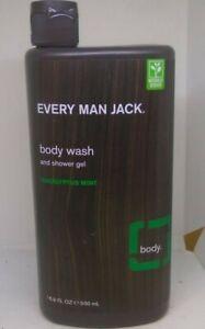 Every Man Jack Body Wash and shower gel Eucalyptus mint 16.9 oz 500 ml