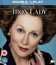 The Iron Lady (Blu-ray and DVD Combo, 2012, 2-Disc Set) FREE SHIPPING