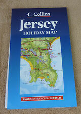 CARTE ROUTIERE DE JERSEY - HOLIDAY MAP  1 : 30 000 - COLLINS