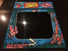 Nintendo Donkey Kong Jr. Arcade Bezel and Marquee