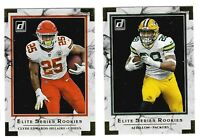 2020 Donruss Football ELITE SERIES ROOKIES Insert - Complete Your Set You Pick!