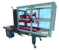 halbautomatische Kartonverschlussmaschine, mit automatischem Deckelverschliesser