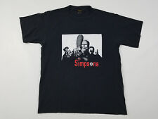 The Simpsons T Shirt Men's Large Vintage 90s Changes Tag Sopranos Style Graphic