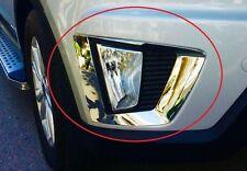 Premium Quality Chrome Plated Fog Light Cover Hyundai Creta - 2pcs