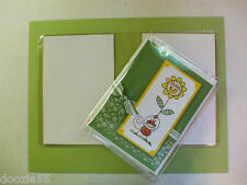 VF34 ~10 Clear Greeting Card Folders Each holds 6  A2 4.25 x 5.5 Card & Envelope