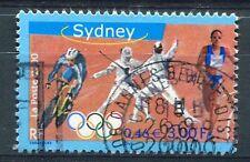 FRANCE 2000, timbre 3340, SPORT, JEUX OLYMPIQUES de SYDNEY, oblitéré