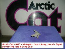 Arctic Cat Hood Latch Ass'y RH # 0110-478 '72 Puma NOS Vintage old # 0106-362