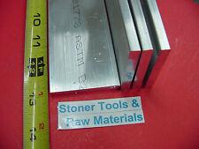 4 Pieces 14 X 2 Aluminum 6061 Flat Bar 13 Long T6511 Plate New Mill Stock