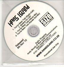 (CQ404) Hang Island, You've Been Told - 2010 DJ CD