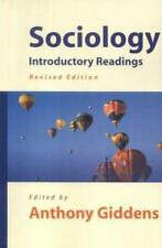SOCIOLOGY., Giddens, Anthony., Used; Good Book