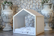 Large Custom Dog House with Bed