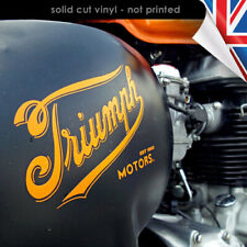 Retro Triumph Sticker Vinyl Decal Bonneville Thruxton Cafe Racer 2325-0119