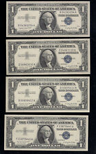$1.00 1957-A, Silver Certificates, 8 pc. Fresh Lot, Choice Uncirculated!