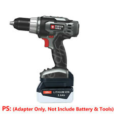 1x BLACK&DECKER 20V Li-ion Battery to PORTER-CABLE 18V PC18B/18BLX Tools Adapter