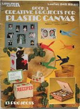 Creative Projects for Plastic Canvas Pattern Book Leisure Arts #245 13 Projects