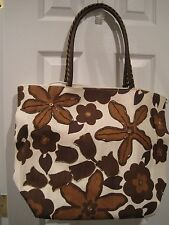 Bijoux Terner Large Tote-Handbag-Purse NEW lined, zippered top, inside pocket