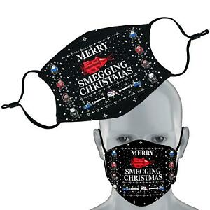 Red Dwarf Inspired Christmas Elastic Face Mask