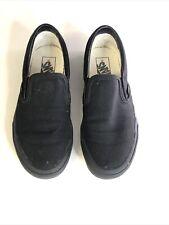 Vans Black Slip On Trainers - Size 5