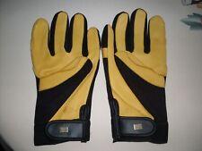 men gold leaf soft touch gloves