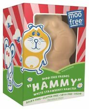Moo Free White Strawberry Hamster - 85g