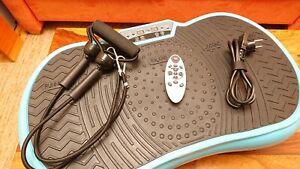 VITALmaxx Vibrationsplatte Vibrationstrainer Ganzkörper Training gelenkschonend