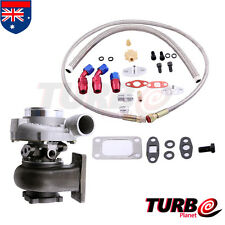 GT30 GT3037 GT3076 Turbo Turbocharger 500hp + Oil Drain Return / Oil Feed Line