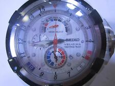 SEIKO VELATRURA MEN'S WATCH KINETIC YACHTING TIMER ALL S/S JAPAN SPC005
