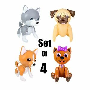 """(Set of 4) 24"""" Puppy Dogs Assortment Inflatable - Inflate Toy Party Decoration"""