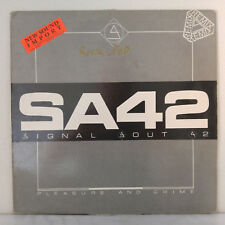"Signal Aout 42 ‎– Pleasure And Crime (Remix) - Vinyl, 12"", 45 RPM - Belgium 1988"