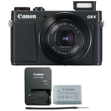 Canon G9X Mark II PowerShot 20.1MP Digital Camera (Black)