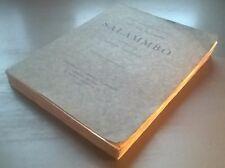 FLAUBERT - SALAMMBO - Illustré ALFRED LOMBARD - EO Rombaldi (1938)