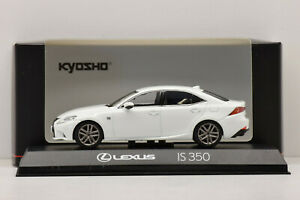 LEXUS IS 350 F SPORT 2013 WHITE NOVA KYOSHO 1/43 NEUF EN BOITE