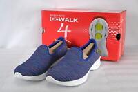 Women's  Skechers 14922/PRMT Go Walk 4- Select Slip on Shoes  Purple/Multi