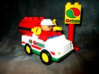 Lego Duplo Auto  Octan  Figur aus 2621 9177 Tankfahrzeug Tankwagen Vehicles