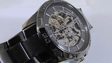 Relic Skeleton Automatic Gun Metal Men's Watch ZR11853