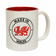 Made In Wales Birth Baby Newborn Welsh Birthplace MUG cup birthday funny gift