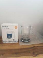 Brewdini Infuser Tea Pot Bird & Blend Tea Co.450 ML NEW