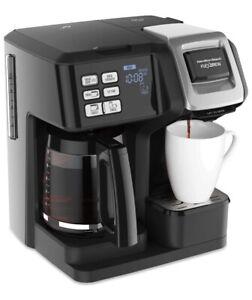 New Hamilton Beach Coffee Maker Flex Brew 2 Way Single Serve Pack Or Full Pot