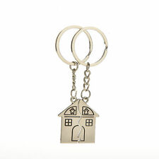 2 X Couple Gift Romantic House Keychain Personalized Souvenirs Lanyard fb