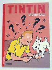 TINTIN ALBUM-JEUX MOULINSART/CASTERMAN 2016 FRENCH TEST YOUR KNOWLEDGE