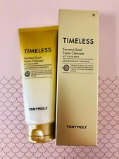 TONYMOLY Timeless Ferment Snail Foam Cleanser 150 ml + samples (EKC) Korean