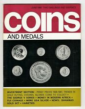 COINS & MEDALS - 64 Page Magazine June 1968 Good Reference