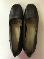 Worthington Dark Brown Leather Slip On Loafers Flats  9.5 W