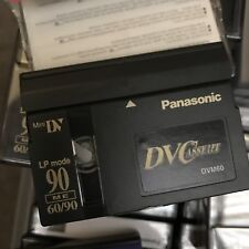 mini dv tapes Panasonic 90 minutes. 6 available.