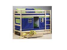 Cameretta bambino letto a castello legno + 2 cassettoni sotto letto FLEXA Basic