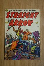 Magazine Enterprises Straight Arrow #6 (Oct,1950)