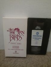 The Thorn Birds Part 1 VHS SCREENER